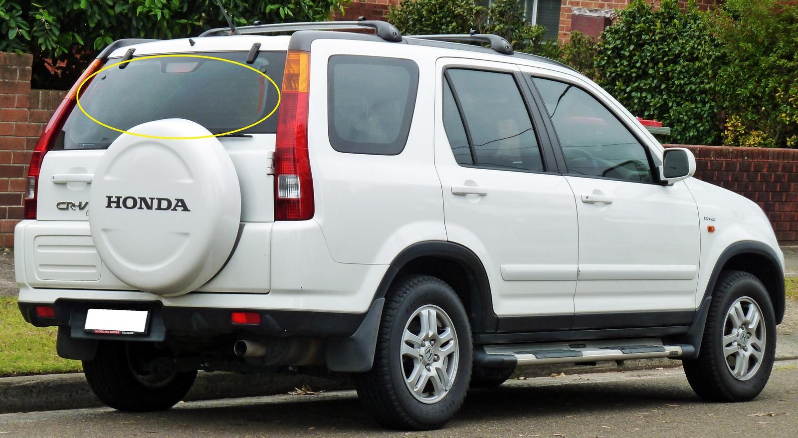 honda crv rd1 4dr wagon 1997 2001 rear windscreen brake. Black Bedroom Furniture Sets. Home Design Ideas
