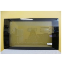 FORD TRANSIT VH/VJ/VM -10/2000 TO 9/2014 - SUPER LWB JUMBO - LEFT SIDE MIDDLE FRONT BONDED FIXED WINDOW GLASS (1020 x 578)