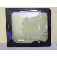 FORD TRANSIT VAN11/2000 to 2015 - VH/ VJ/ VM  -RIGHT SIDE REAR BARN DOOR GLASS - (Wiper Hole-Heated)