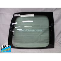 VOLKSWAGEN CADDY LIFE WAGON (7 SEATER) 2/2005 - 6/2008 - LEFT SIDE REAR BARN DOOR GLASS - HEATED