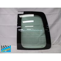 VOLKSWAGEN CADDY LIFE WAGON (7 SEATER) 2/2005 - 6/2008 - RIGHT SIDE REAR BARN DOOR GLASS - HEATED