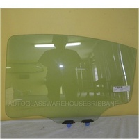 MITSUBISHI 380 DB - 4DR SEDAN 9/05.CURRENT - PASSENGERS - LEFT SIDE REAR DOOR GLASS