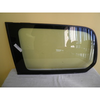 suitable for TOYOTA LANDCRUISER 200 Series - WAGON 11/07>CURR - PASSENG-LEFT SIDE-CARGO GLASS