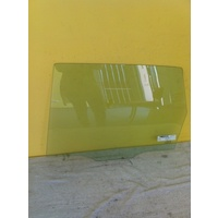 HONDA JAZZ GE - 5DR HATCH 8/08>CURR - PASSENGER - LEFT SIDE - REAR DOOR GLASS