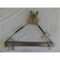 MITSUBISHI LANCER CE - 2DR COUPE 6/1996>8/2004 - DRIVERS - RIGHT FRONT WINDOW REGULATOR
