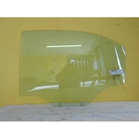 HOLDEN BARINA TK 4DR SEDAN 1/06 > CURR - PASSENGERS - LEFT SIDE -REAR DOOR GLASS