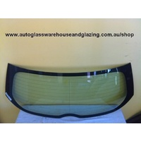 suitable for TOYOTA COROLLA ZRE152R - 5/2007 to 10/2012 - 5DR HATCH - REAR WINDSCREEN