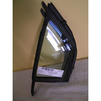 suitable for TOYOTA YARIS -3/5DR HAT 9/05>CURR - DRIVERS - RIGHT SIDE - FRONT QUARTER GLASS