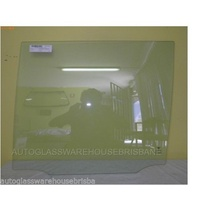 suitable for TOYOTA LANDCRUISER WAGON 11/07 to  CURRENT 200 SERIES LEFT SIDE REAR DOOR GLASS