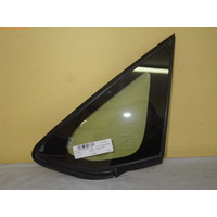 suitable for TOYOTA COROLLA ZRE152R - 5/2007 to 10/2012 - 5DR HATCH - LEFT FRONT QUARTER GLASS-Encapsulated