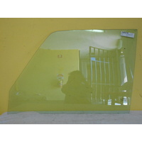 suitable for TOYOTA LANDCRUISER 76/79 SERIES 5DR WAGON - PASSENGER SIDE-LEFT FRONT DOOR GLASS