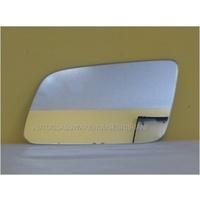 HOLDEN COMMODORE VE - 4DR SEDAN 8/06>5/13 - PASSENGER - LEFT SIDE MIRROR - NEW (flat mirror glass only) 92mm tall X 192mm widest