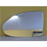 HOLDEN CRUZE JG/JH - 4DR SEDAN 5/09>6/12 - PASSENGER - LEFT SIDE MIRROR - NEW ( flat mirror glass only) 185mm wide X 118mm high