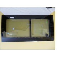 VOLKSWAGEN TRANSPORTER T5-T6 - SWB/LWB - 8/2004 to CURRENT - VAN - RIGHT SIDE FRONT SLIDING WINDOW GLASS (1 SLIDING PIECE)