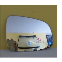 FORD FALCON FG - 4DR SEDAN 5/08>CURRENT - DRIVER - RIGHT SIDE MIRROR - NEW (flat mirror glass only) 165mm X 120mm high
