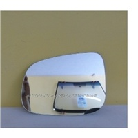 FORD FALCON FG - 4DR SEDAN 5/08>CURRENT - PASSENGER - LEFT SIDE MIRROR - NEW (flat mirror glass only) 165mm X 120mm high