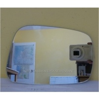 NISSAN NAVARA D40 (spanish manual) 12/2005 to 03/2015 - DRIVER - RIGHT SIDE MIRROR (flat mirror glass only) - NEW - 200w X 135h