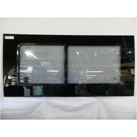 FIAT DUCATO 2/2007 to CURRENT - VAN - LEFT FRONT BONDED SLIDING WINDOW GLASS  (GLASS IN GLASS FRAME) - NEW