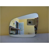MITSUBISHI LANCER CJ - 5DR HATCH 12/07>CURRENT - PASSENGER - LEFT SIDE MIRROR GLASS - FLAT GLASS ONLY - 167W X 125H