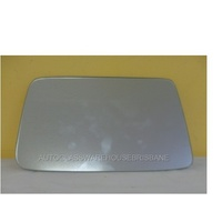 HUMMER H3 - 4WD WAGON 2007>CURRENT - PASSENGER - LEFT SIDE MIRROR - NEW (flat mirror glass only) 205mm X 135mm