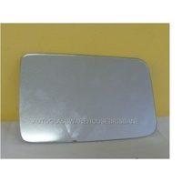 HUMMER H3 - 4WD WAGON 2007>CURRENT - DRIVER - RIGHT SIDE MIRROR - NEW (flat mirror glass only) 205mm X 135mm