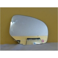 SUZUKI SWIFT AFZ414 - 2/2011 to CURRENT - 5DR HATCH  RIGHT SIDE MIRROR -flat glass only-166w X 126h.