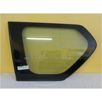 TOYOTA PRADO 150 SERIES - WAGON 11/2009>5/2015 - PASSENGER - LEFT SIDE CARGO GLASS - ENCAPSULATED WITH AERIAL