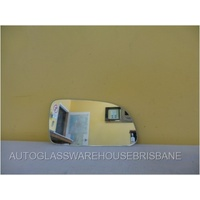 HYUNDAI SONATA NF - 4DR SEDAN 6/2005>4/2010 - DRIVERS RIGHT SIDE MIRROR GLASS - FLAT GLASS ONLY - 191mm X 97mm