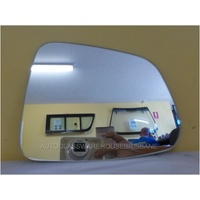 HOLDEN CAPTIVA SERIES 2 - 5DR WAGON 3/11>CURRENT - DRIVERS RIGHT SIDE MIRROR GLASS - FLAT GLASS ONLY - 141W X 186H