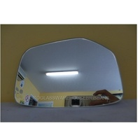 HONDA ACCORD CP - 4DR SEDAN 2/2008>CURRENT - DRIVERS - RIGHT SIDE MIRROR GLASS - FLAT GLASS ONLY - 185W X 129H