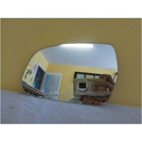AUDI A4 B8 8K - 4/2008 to 12/2015 - 4DR SEDAN - LEFT SIDE MIRROR - flat glass only-185 X 115