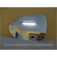 KIA RIO UB - 4DR SEDAN 2/2012>CURRENT - PASSENGER - LEFT SIDE MIRROR GLASS - FLAT GLASS ONLY - 171W X 120H