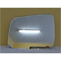 MIRROR NISSAN XTRAIL T31  LEFT SIDE-flat glass only-169mm wide X 135mm high