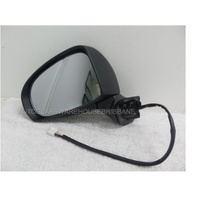 suitable for TOYOTA PRIUS ZVW30R ZVW30R - 7/2009 to CURRENT - 5DR HATCH - LEFT SIDE MIRROR COMPLETE - HEATED - NEW