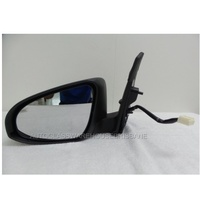 TOYOTA COROLLA ZRE182R - 10/2012 to CURRENT - 5DR HATCH - LEFT SIDE MIRROR - NEW - LED+FOLD(9 line wire)