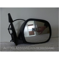 TOYOTA HIACE KDH/TRH - VAN 3/2005>2012 - DRIVER - RIGHT SIDE COMPLETE MIRROR - BLACK - ELECTRIC