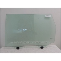 NISSAN PATHFINDER R52 - 10/2013 to current- 4DR WAGON - LEFT SIDE REAR DOOR GLASS - NEW