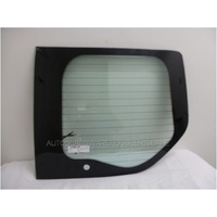 FORD TRANSIT CUSTOM LWB - 1/2013 to CURRENT - RIGHT SIDE REAR BARN DOOR GLASS - WIPER HOLE - NEW