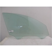 AUDI A6-S6 C7- 7/2011 to CURRENT - SEDAN/WAGON - RIGHT SIDE FRONT DOOR GLASS - GREEN - NEW