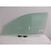HONDA ACCORD CR - 4DR SEDAN 6/2013>CURRENT - PASSENGERS - LEFT SIDE FRONT DOOR GLASS - GREEN - NEW