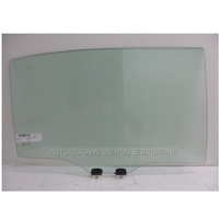 HONDA ACCORD CR - 4DR SEDAN 6/2013>CURRENT - DRIVERS - RIGHT SIDE REAR DOOR GLASS - GREEN - NEW