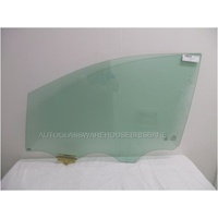 KIA CARNIVAL YP - 12/2014 to CURRENT - VAN - LEFT SIDE FRONT DOOR GLASS - GREEN - NEW
