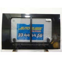 FORD TRANSIT VH/VJ/VM - 9/2006 to 9/2014 - LWB JUMBO - RIGHT SIDE MIDDLE FRONT SLIDING GLASS - BONDED - NEW