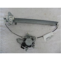 NISSAN NAVARA D40 - 12/2005>3/2015 - DUALCAB - THAI BUILD - LEFT REAR DOOR REGULATOR
