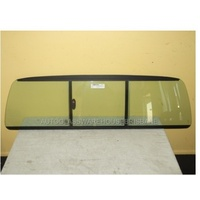 FORD RANGER PJ/PK - 12/2006 to 9/2011 - 2DR/4DR UTE - REAR WINDSCREEN GLASS SLIDER - NEW