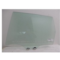 SUBARU FORESTER 12/2012 to CURRENT- 5DR WAGON - LEFT SIDE REAR DOOR GLASS - NEW
