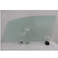HONDA JAZZ GK5- 8/2014 to CURRENT - 5DR HATCH - LEFT SIDE FRONT DOOR GLASS - NEW - GREEN - WITH FITTING