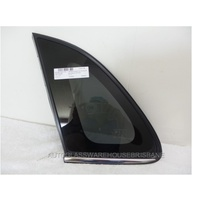 MITSUBISHI ASX XA - 7/2010 to - 5DR WAGON - LEFT SIDE OPERA GLASS - PRIVACY GREY - ORIGINAL PART (CHROME MOULD)