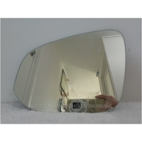 TOYOTA RAV4 40 SERIES - 2/2013 to - 5DR WAGON - LEFT SIDE MIRROR - FLAT GLASS ONLY - 190mm WIDE X 143mm HIGH - NEW