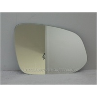 TOYOTA RAV4 40 SERIES - 2/2013 to - 5DR WAGON - RIGHT  SIDE MIRROR - FLAT GLASS ONLY - 190mm WIDE X 143mm HIGH - NEW